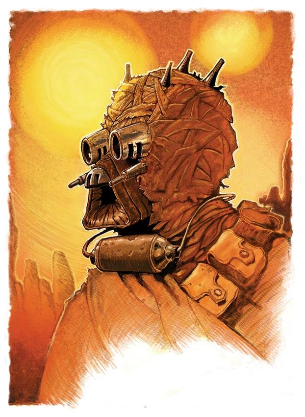 Pin By Johnny On Star Wars Art Pinterest Tusken Raider Star