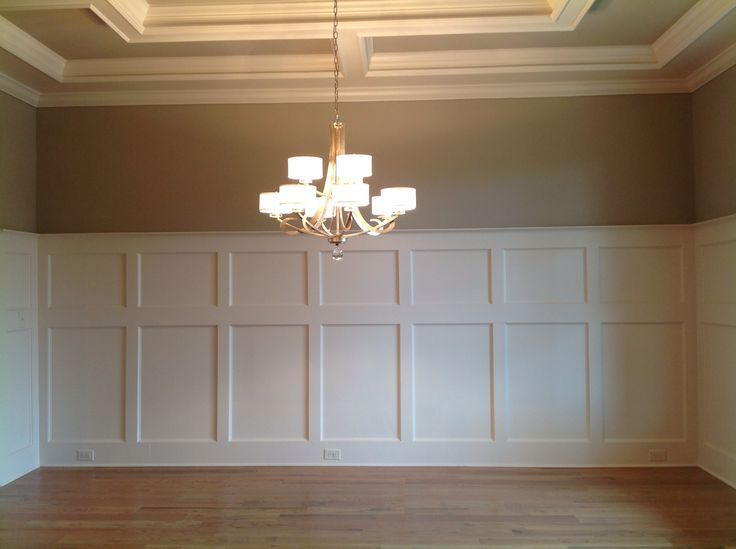 Best 25 dining room paneling ideas on pinterest dinning for Dining room molding ideas