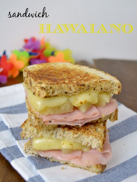 Sandwich hawaiano /  Hawaiian Sandwich