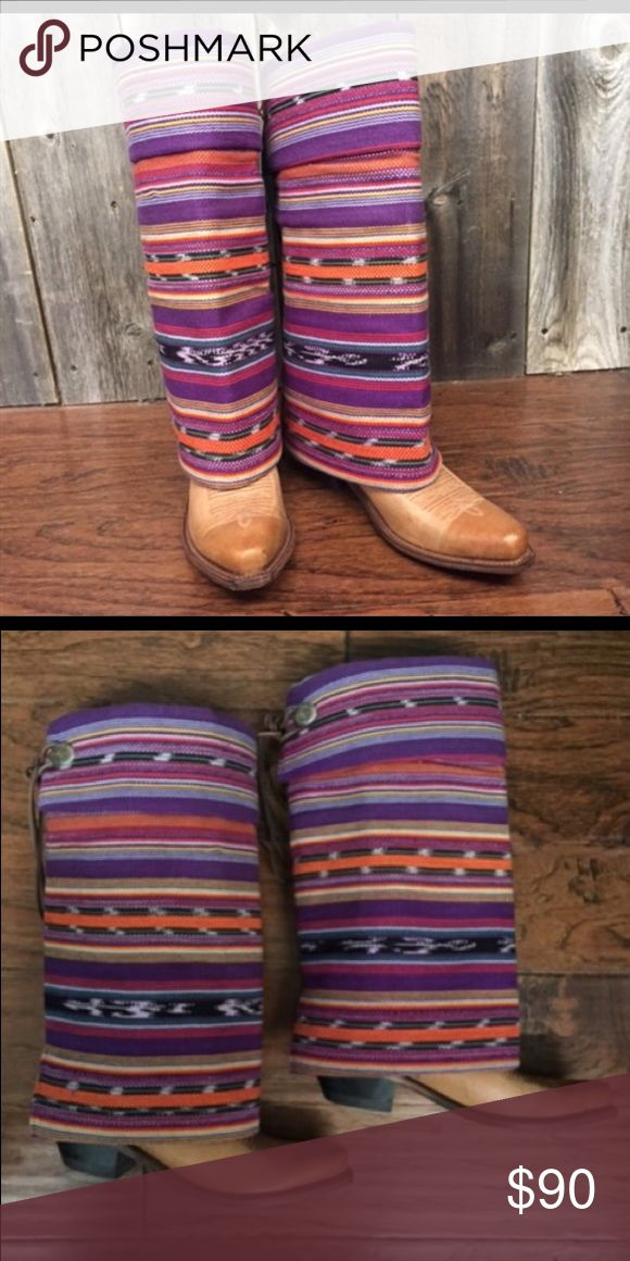 Purple Aztec Boot Rugs Minimal wear on bottoms not noticeable when on! Other