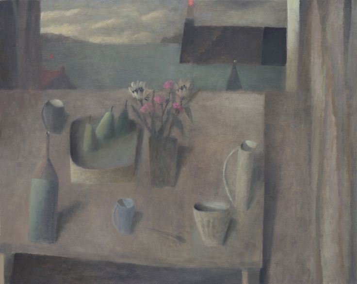 Nicholas Turner 'Cornish Table', oil on canvas
