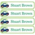 Transport Pastel Green Vinyl Label