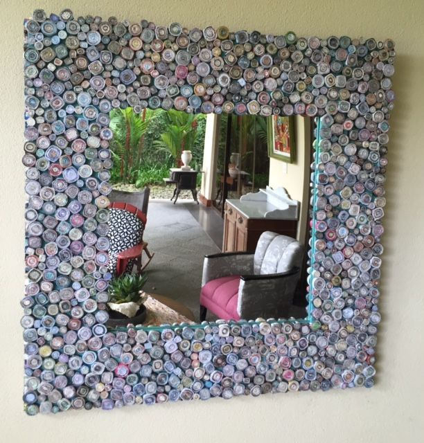 recycled mirrors