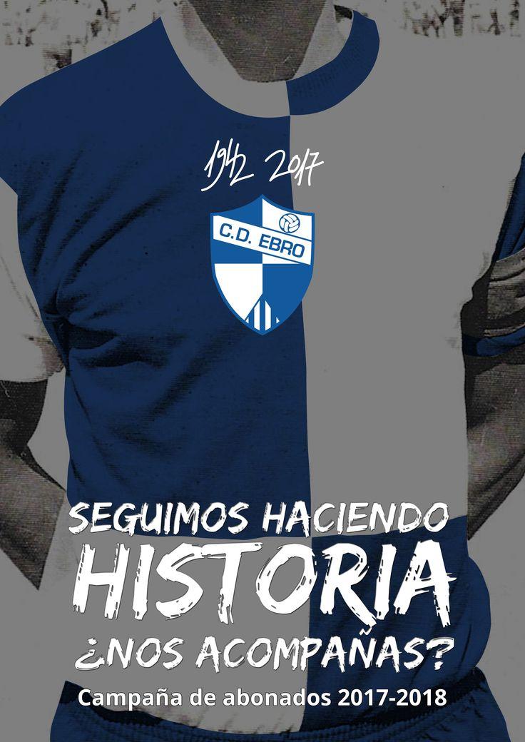 C.D. Ebro » El Club Deportivo Ebro sigue haciendo historia, ¿nos acompañas?