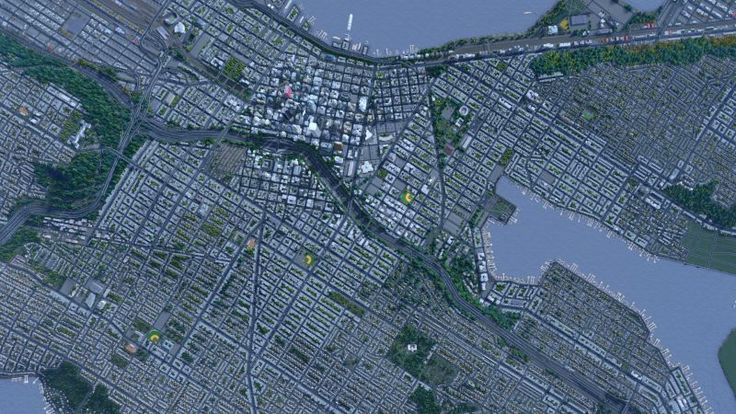 Seattle Recreated Almost Perfectly In Cities: Skylines
