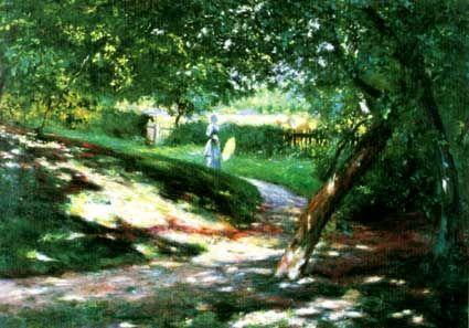 Wladyslaw Podkowinski - In a Park 1892     Silesian Museum, Katowice
