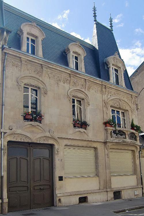 Ville de Nancy - Façade Proposé par Gilles Boncourt