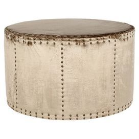Cosette Footstool in Antique Sage