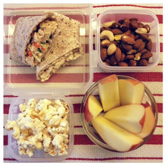Brown Bag Lunch Idea: Cashew Chicken Salad | Mint Sprinkles