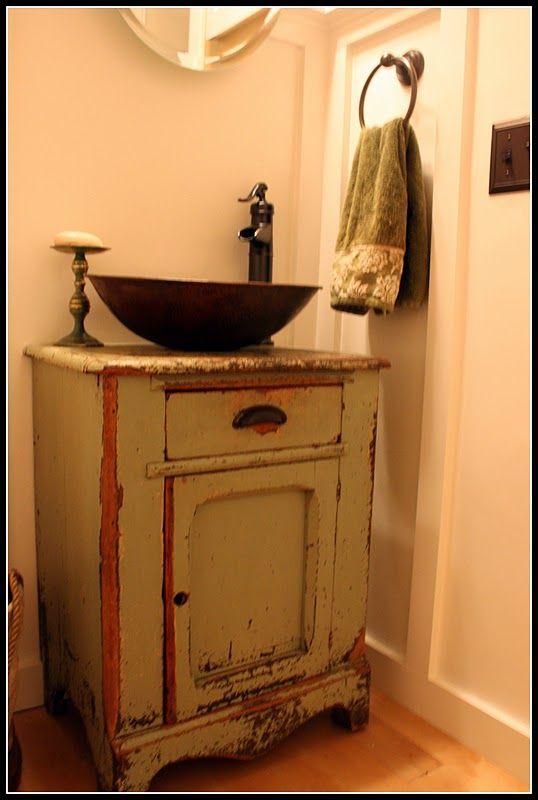 Best 25 Rustic Bathroom Sinks Ideas On Pinterest