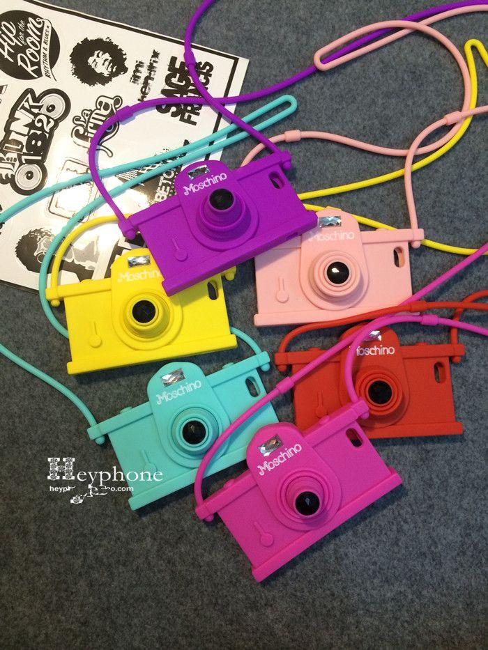 最新作!!【Moschino】カメラ型 iPhoneケース、絶対おしゃれモスキーノカメラ型携帯ケース。   1.iphone7ケースパープルmoschinoモスキーノカメラ型携帯ケースカメラ型スマホケースiphone7 Plus/6plusモスキーノシリコンアイフォンSE/5...
