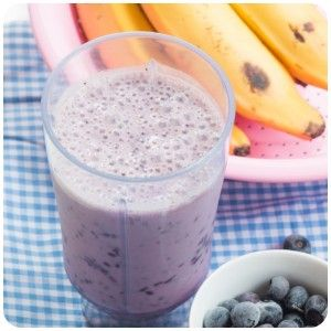 smoothie-vegano-banana-mirtilo