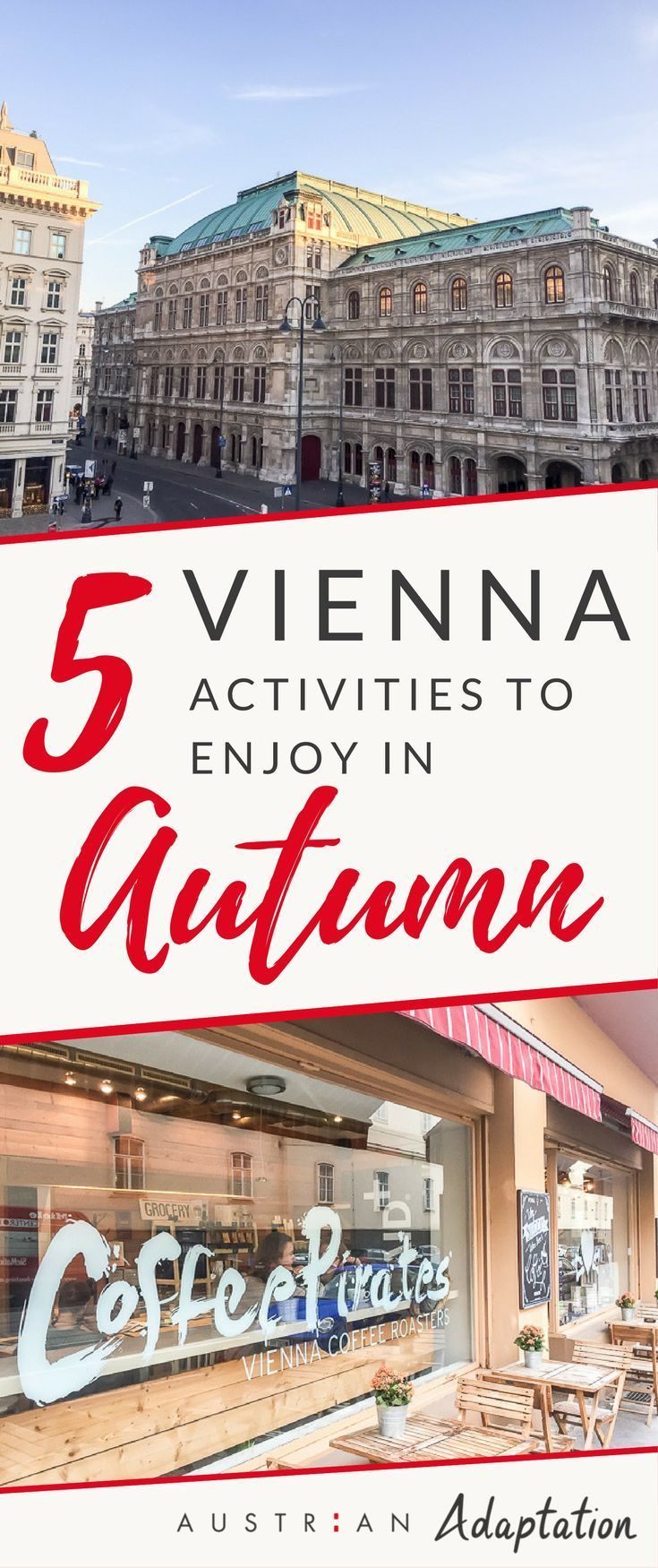 Autumn is a great time to travel to #Vienna, #Austria. There are many great things to do. Check out these tips and photos. You'll find the best musuem and cafe to visit, as well as an awesome hike. #viennacity #vienna_austria #austrianblogger #austrianblog