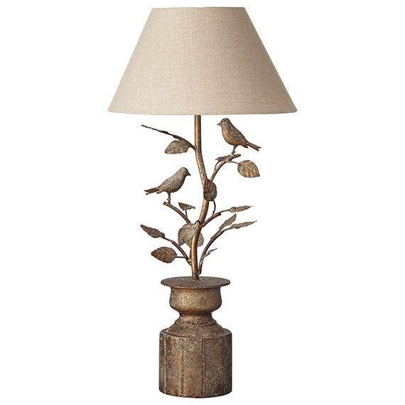 Lark Table Lamp - Antique Gold