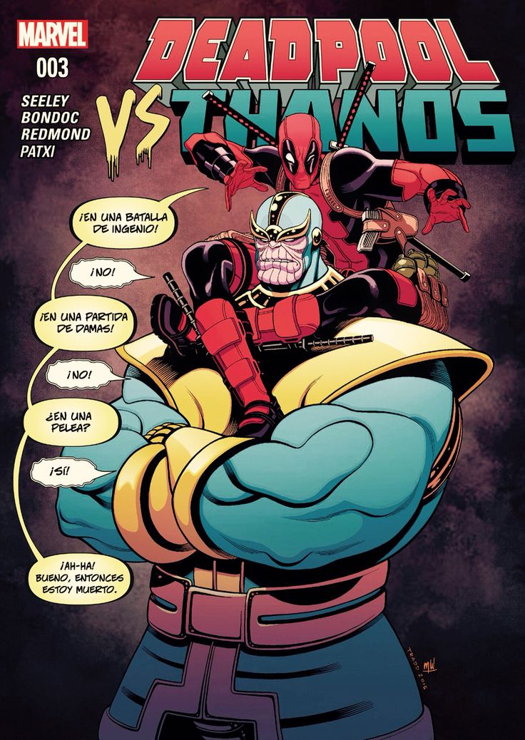 Thanos vrs. Deadpool #03