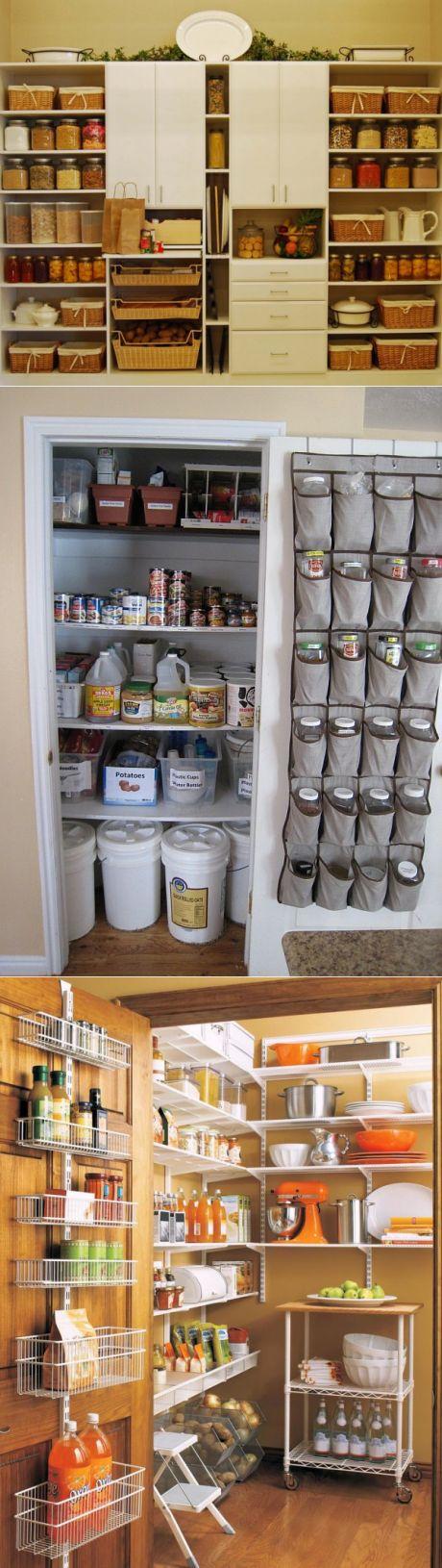 Как организовать хранение в кладовой