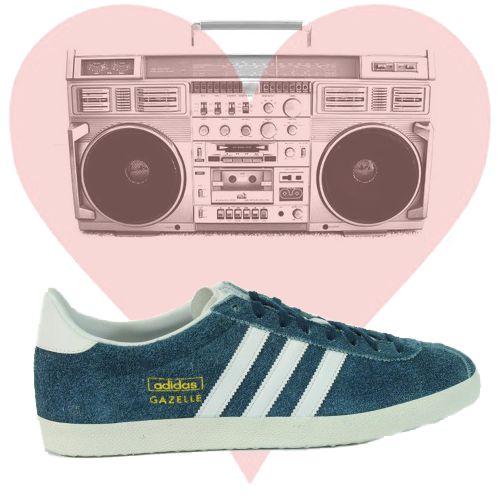 Se gli anni 80 sono ancora nel cuore, Adidas Gazelle.  Visita il sito e scopri tutti gli altri modelli della collezione P/E 2013, scontati fino al 50%. http://www.olaraga.com/4_adidas