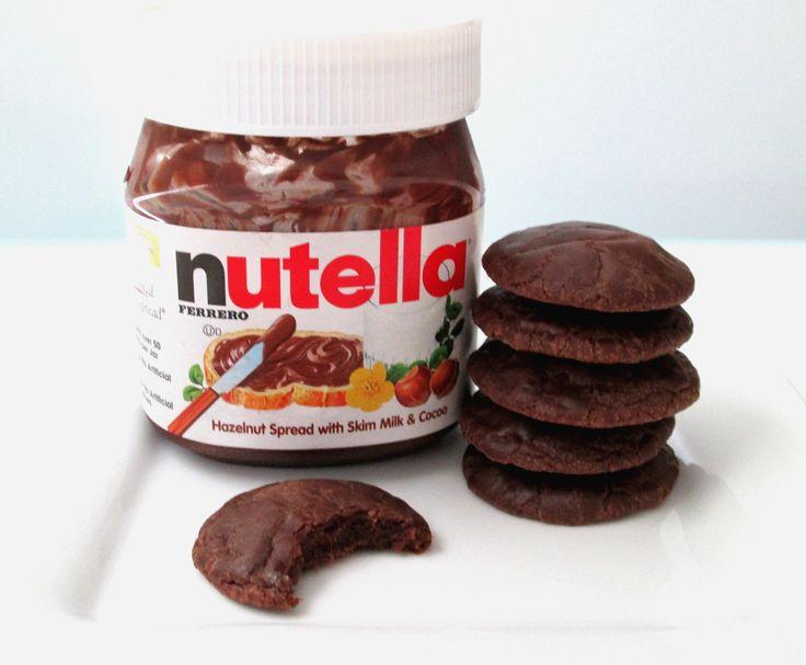 Nutella koekjes bakken