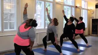 yoga for overweight beginners - YouTube