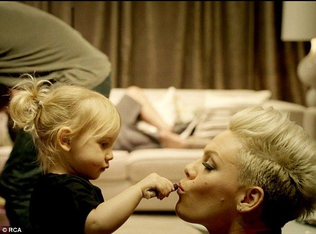 "P!nk's Daughter Willow Is the Star of ""True Love""/"