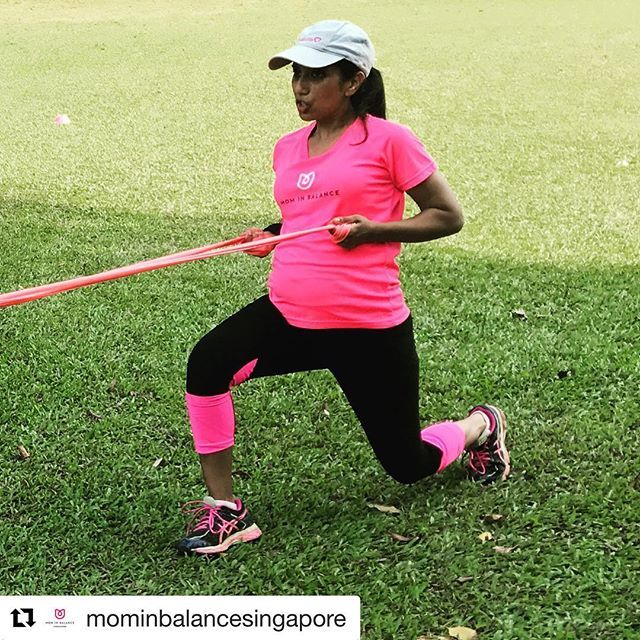 #Repost @mominbalancesingapore with @get_repost  When your pregnant cousins is way more fit than you will ever be @melishasirisena   Meet our fierce trainer Melisha 26 weeks pregnant of her 2nd child. What better example can we show our members that fitness and pregnancy are a great combination?! Meet her at the #botanicgardensingapore every Saturday morning and enjoy her bubbly and beautiful personality! Don't be fooled she is tough  . . . #supermomsg #sgfit #sgfitgirls #sgfitgirls…