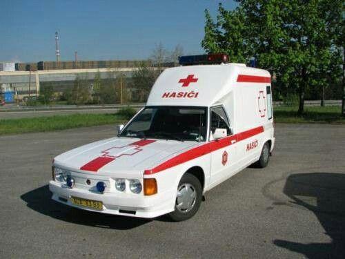 Tatra 613 Hasiči Ambulance