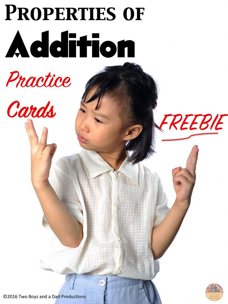 Do your students need practice with the Properties of Addition?  Then use this set of 12 free colorful properties of addition cards which can be used in many ways for students to practice or memorize the following properties of addition:  ★ Commutative Property of Addition ★ Associative Property of Addition ★ Zero or Identity Property of Addition  Come check out this FREE resource!