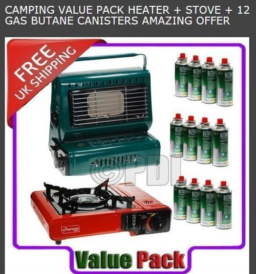 heater camping stove