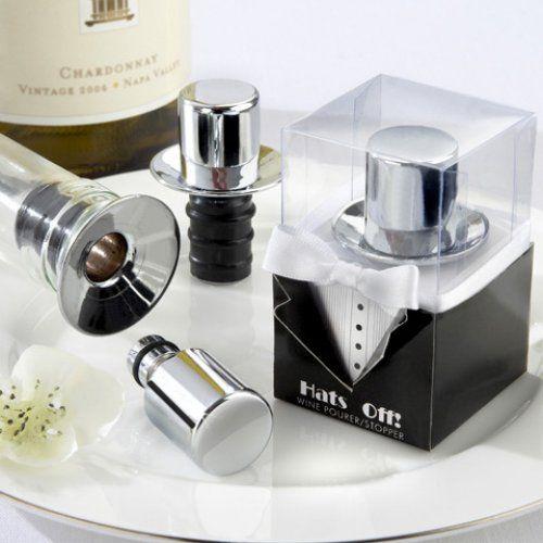 Top Hat Wine Pourer/Bottle stopper