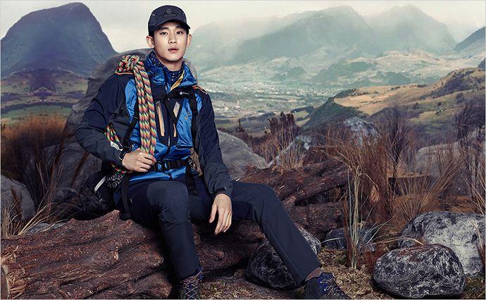BEANPOLE OUTDOOR F/W 2014 Lookbook Feat. Kim Soo Hyun | Couch Kimchi