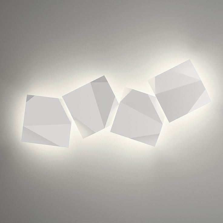 lmparas de pared origami vibia