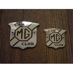 MG Car Club Grille Badge - The MGF Register