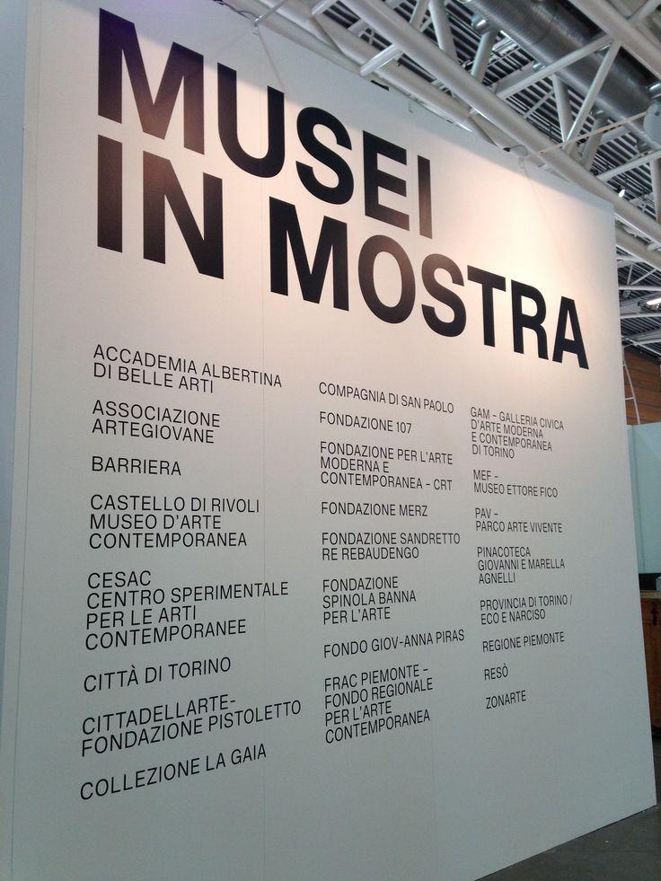 Musei in mostra: artissima fa rete!