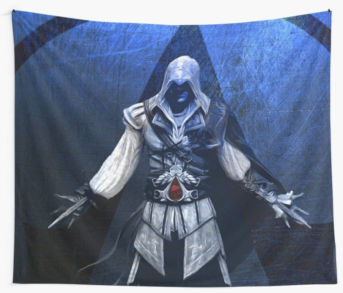25% Off Art Prints, Tapestries and All Wall Art With Code: LETSHANG .. Ezio Auditore Gamer Wall Tapestry #ezioauditore #gifts #giftideas #assassinscreedtapestry #sale #sales #deals #save #discount #gamersroom #gaming #gamer #geek #tapestry #walltapestry #ezio #gamersroom #gamingtapestry #dorm #campus #deals #39  #online #shopping #badass #popular #redbubble #campus #style #home #homedecor #homegifts #cool #awesome #family #giftsforhim #giftsforher #kids