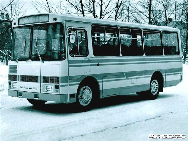 ПАЗ-32033 Опытный (1974 год)    | GM-Клуб :: Просмотр темы - Автоэкзотика