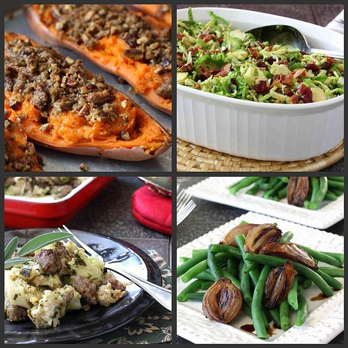 Thanksgiving Feast Recipes: Appetizers, Side Dishes, Breads & Desserts