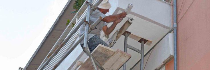 Σκαλωσιές για μπαλκόνι