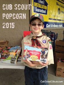 Cub Scout Popcorn