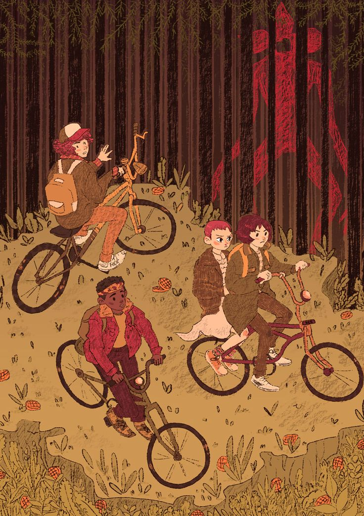 Stranger Things kids  Prints coming soon ~ as well as the whole project on my Behance!