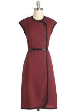 Offbeat Official Dress, #ModCloth