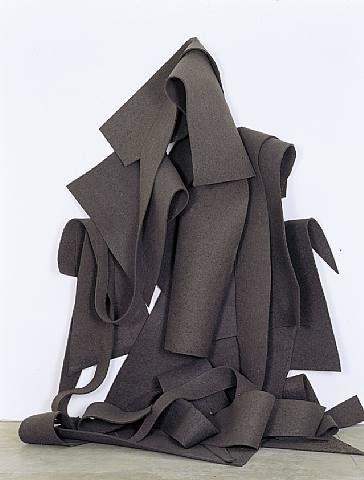 Felt Sculpture. Robert Morris.