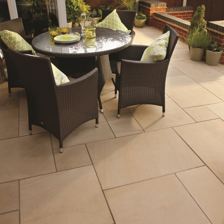 Natural Sandstone Patio Pack - StoneFlair by Bradstone | Simply Paving