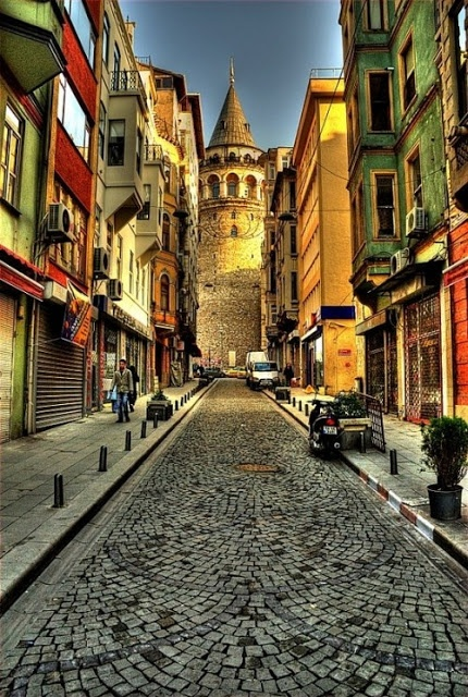 Istanbul - this is literally around the corner from the apt I rented!!!