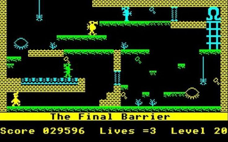 17-manic-miner #retro games