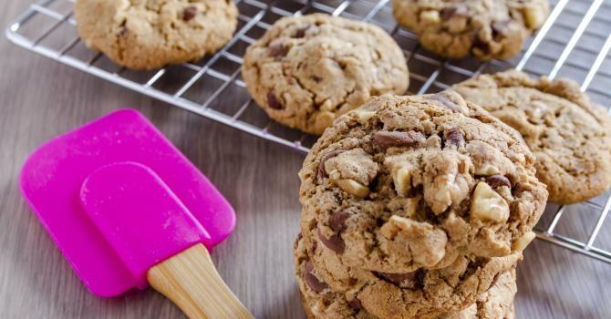 Recette de Cookies sans gluten. Facile et rapide à réaliser, goûteuse et diététique. Ingrédients, préparation et recettes associées.