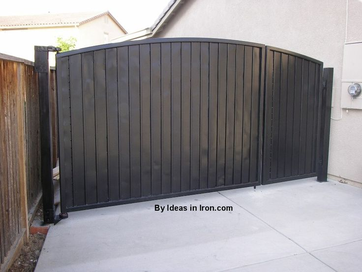 Solid Iron Gates Google Search Cercas Fences