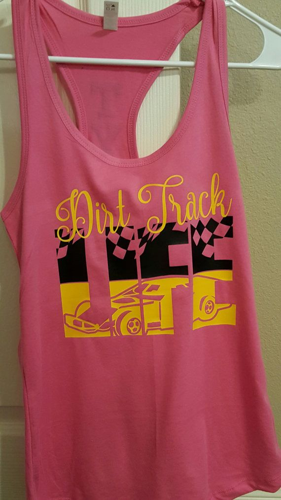 Personalized Dirt Track Racing Shirt/Girl's by JANDDDESIGNS2015