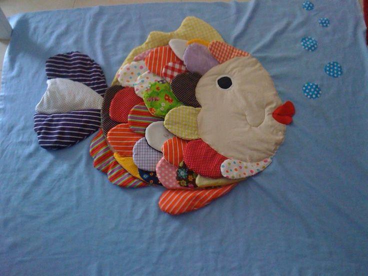 Mon tapis d'eveil Poisson
