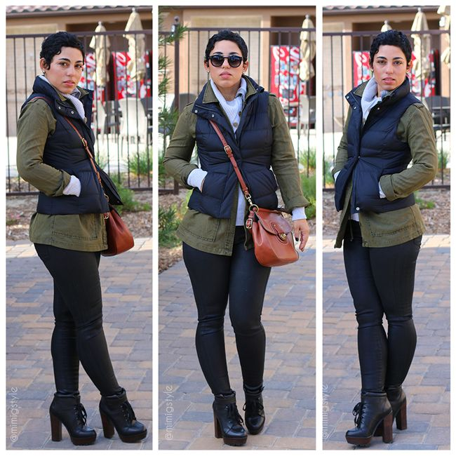 Six Tricks To Layering + OOTD Puffer Vest & Coated Jeans |Fashion, Lifestyle, and DIY