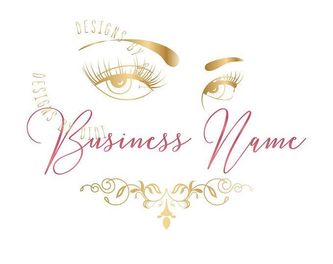 Lash gold logo design, lash logo gold, gold eyelash logo, beauty